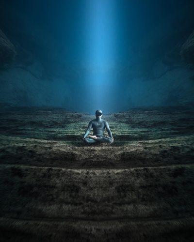 la synchronisation des ondes en apnée et en méditation