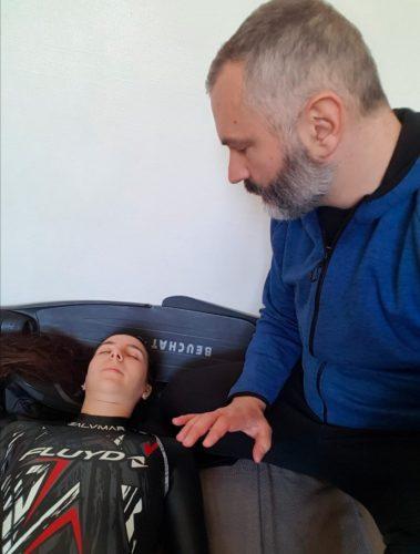 preparation mentale à la performance en apnée avec une hypnose