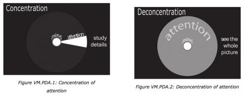 La déconcentration planaire de l'attention adaptée à la pratique de l'apnée