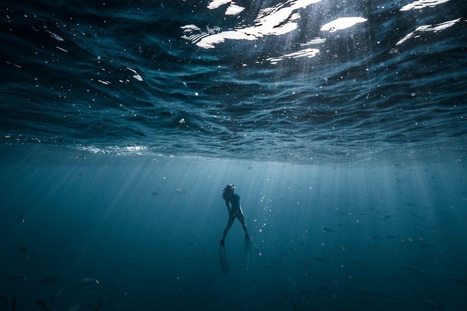 John Kowitz, The Big Blue, photographe sous-marin, entrainement en hypercapnie chez l'apnéiste